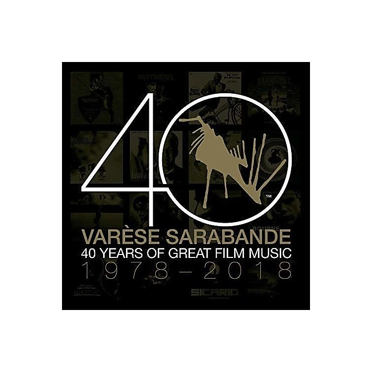 AllianceVarious Artists - Varese Sarabande: 40 Years Of Great Film Music 1978-2018