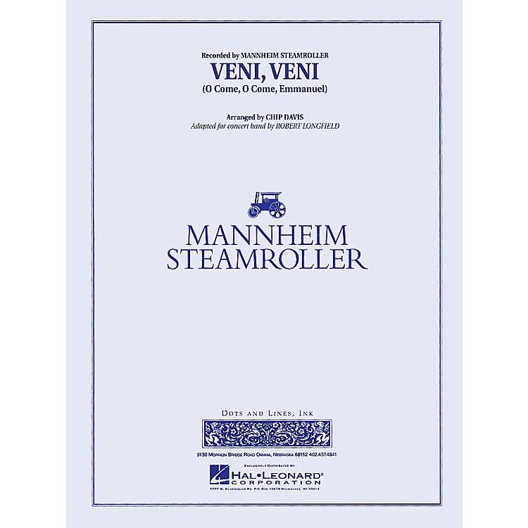 Mannheim SteamrollerVeni, Veni (O Come, O Come Emmanuel) Concert Band Level 3 by Mannheim Steamroller Arranged by Longfield