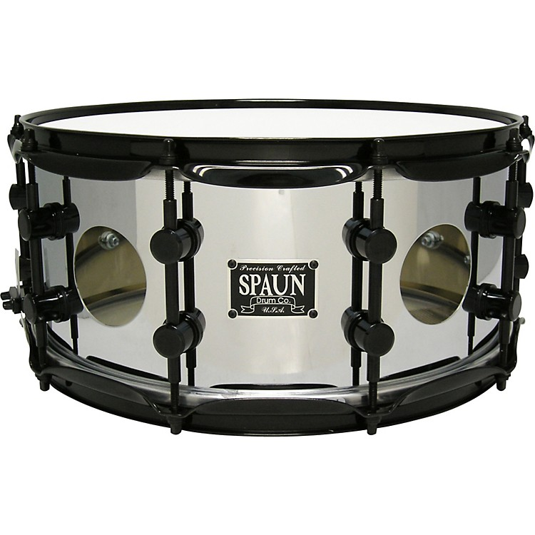 SpaunVented Steel Chrome Snare