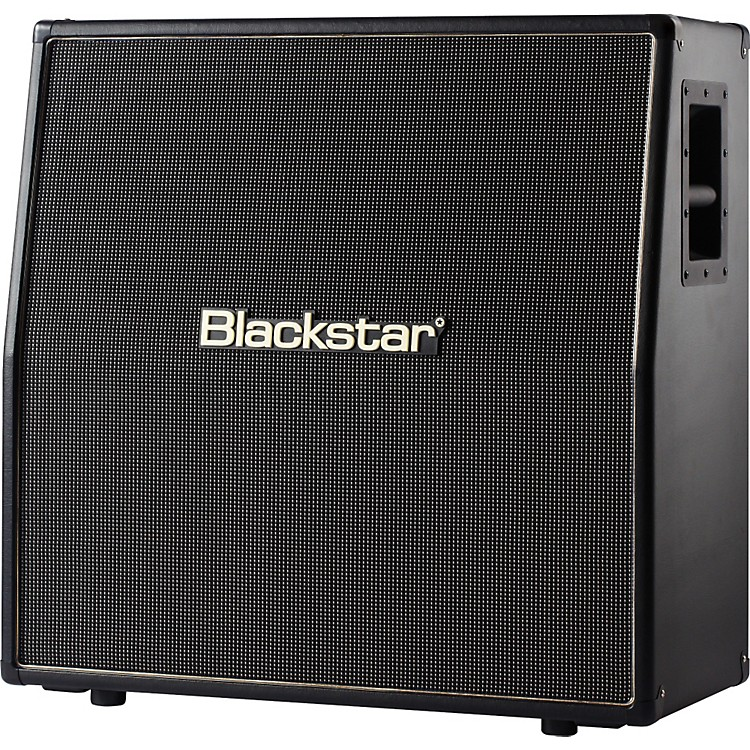 Blackstar Venue Series HTV-412 360W 4x12 Guitar Speaker Cabinet Black Slant