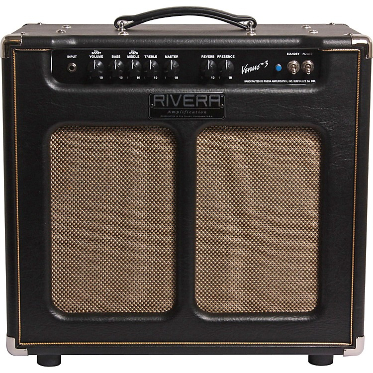 Rivera Venus 3 Out of Prodcution Model 15W 1x12  Tube Guitar Combo Amp Black