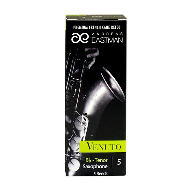 Andreas Eastman Venuto Tenor Saxophone Reeds Strength 5 Box of 5