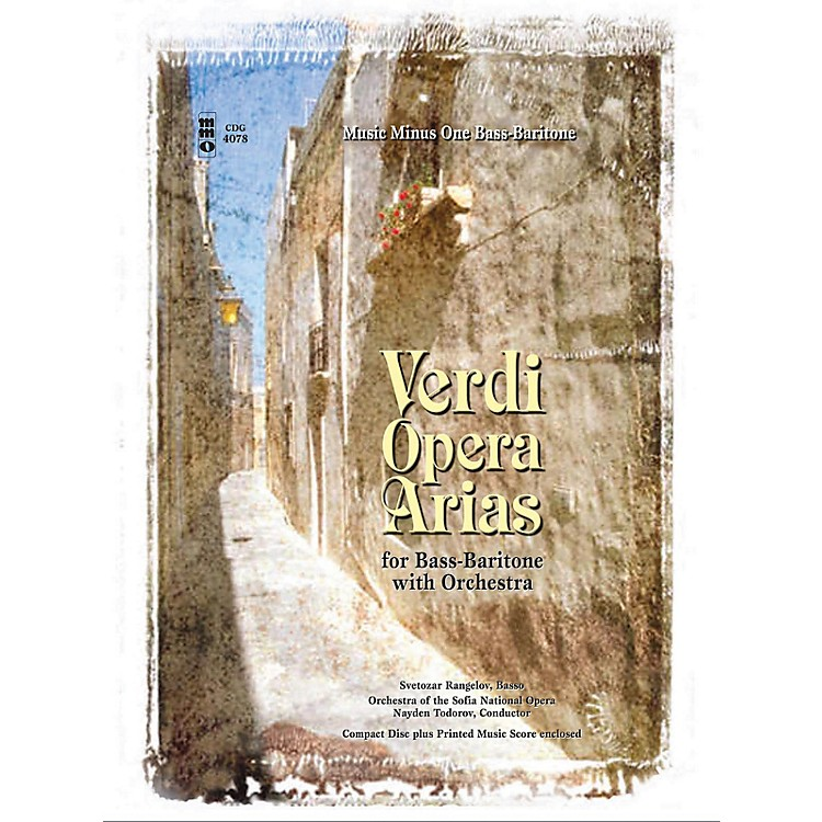 Music Minus OneVerdi - Bass-Baritone Arias with Orchestra Music Minus One Series Softcover with CD by Giuseppe Verdi