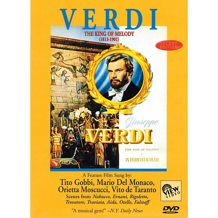 View VideoVerdi - The King of Melody Live/DVD Series DVD