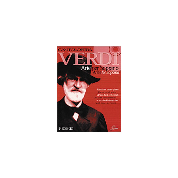 Hal Leonard Verdi Arias for Soprano