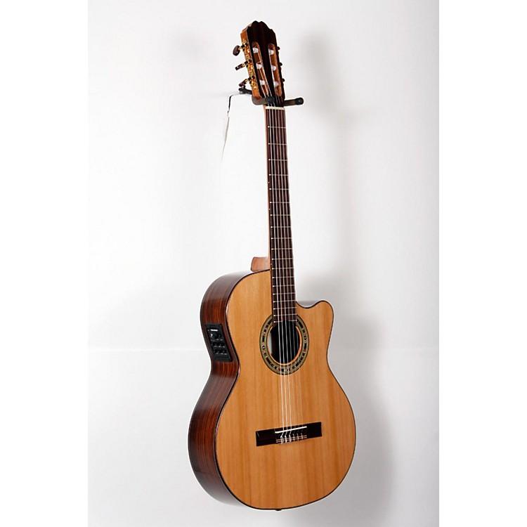 KremonaVerea Cutaway Acoustic-Electric Nylon GuitarNatural888365827346