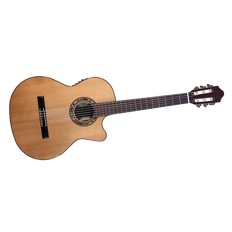 KremonaVerea Cutaway Acoustic-Electric Nylon Guitar