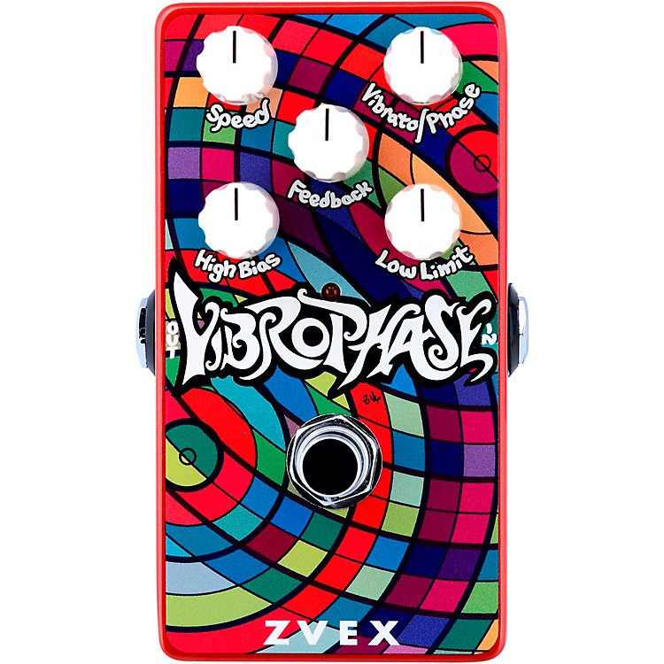 ZVex Vertical Vibrophase Effects Pedal