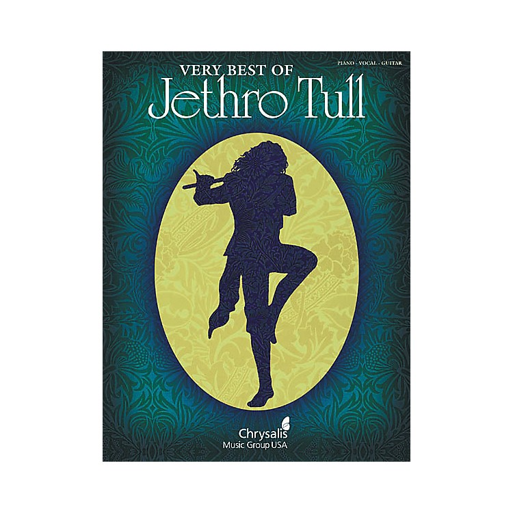 Hal LeonardVery Best of Jethro Tull Piano, Vocal, Guitar Songbook