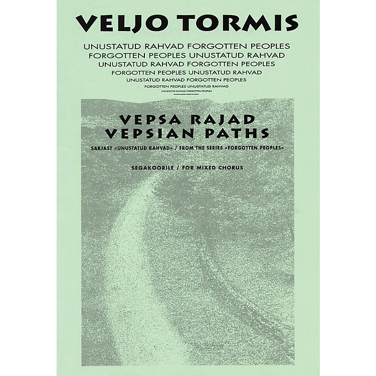 Boosey and HawkesVespa Rajad (Vespian Paths) (from the Series Forgotton Peoples) SATB DV A Cappella by Veljo Tormis