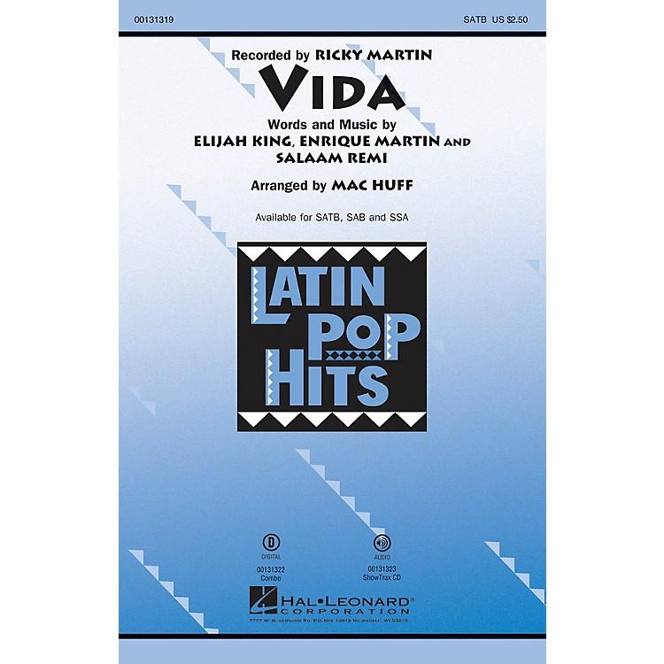 Hal LeonardVida SAB by Ricky Martin Arranged by Mac Huff