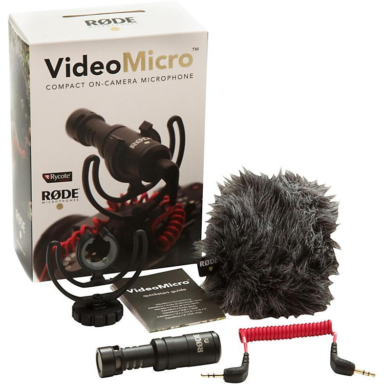 RodeVideoMicro Compact Directional On-Camera Microphone