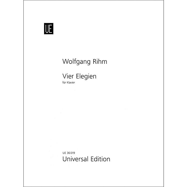 Carl FischerVier Elegien - Piano