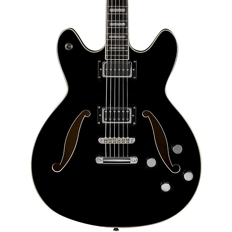 Hagstrom Viking Baritone Electric Guitar Gloss Black