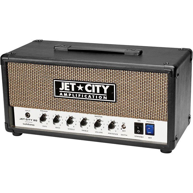 Jet City AmplificationVintage 20W Tube Head Guitar Amplifier