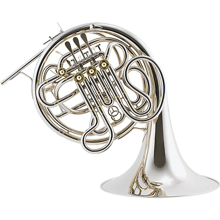 ConnVintage 8D Series Double HornNickelFixed Bell