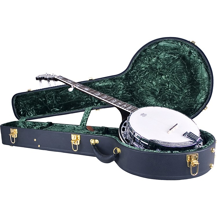 Silver Creek Vintage Archtop Case for Banjo Black