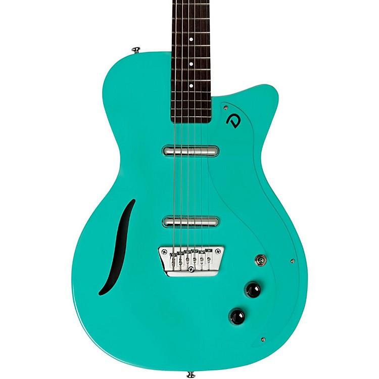 DanelectroVintage Bartitone Electric GuitarAqua