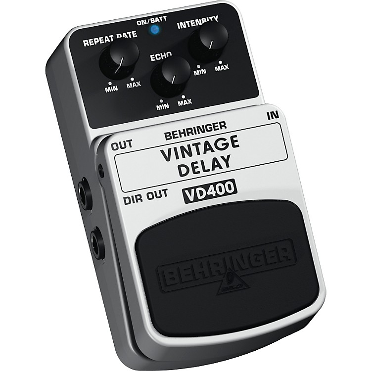 BehringerVintage Delay VD400 Analog Delay Effects Pedal