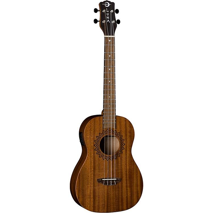 Luna GuitarsVintage Mahogany Acoustic-Electric Baritone UkuleleSatin Natural