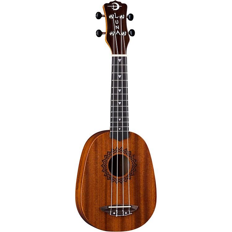 Luna GuitarsVintage Mahogany Pineapple UkuleleSatin Natural