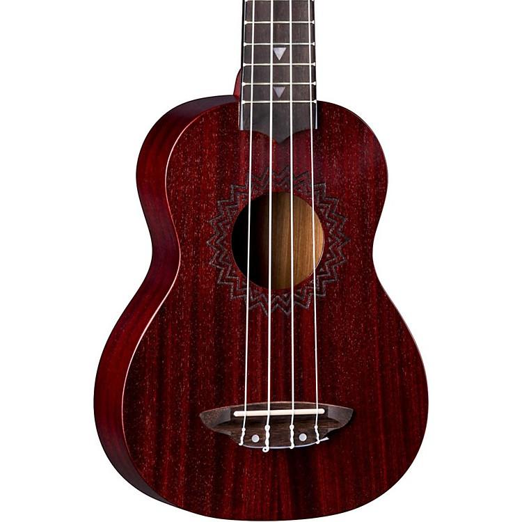 Luna GuitarsVintage Mahogany Soprano UkuleleSatin Black