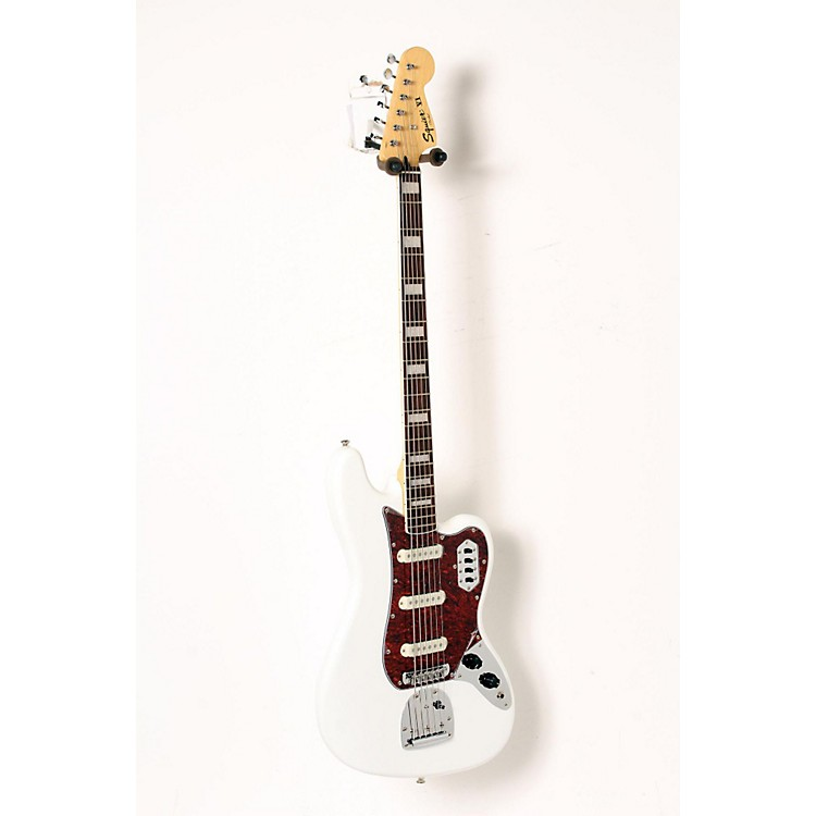 Squier Vintage Modified Bass VI Olympic White 888365917658