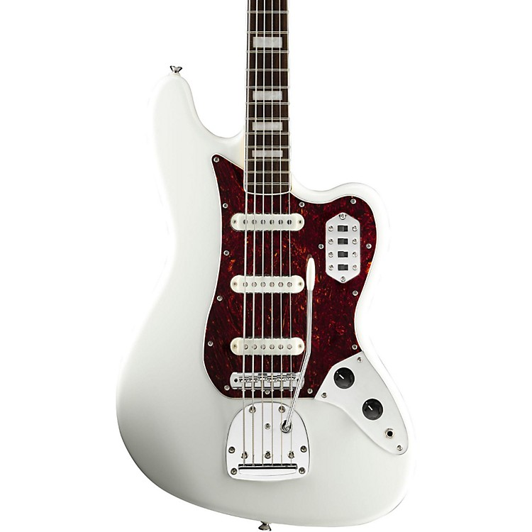 SquierVintage Modified Bass VIOlympic White