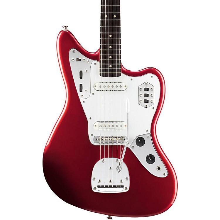 SquierVintage Modified Jaguar Electric GuitarCandy Apple RedRosewood Fingerboard