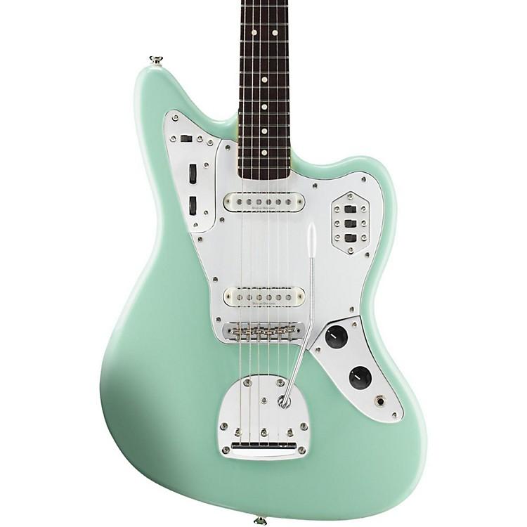 SquierVintage Modified Jaguar Electric GuitarSurf GreenRosewood Fingerboard