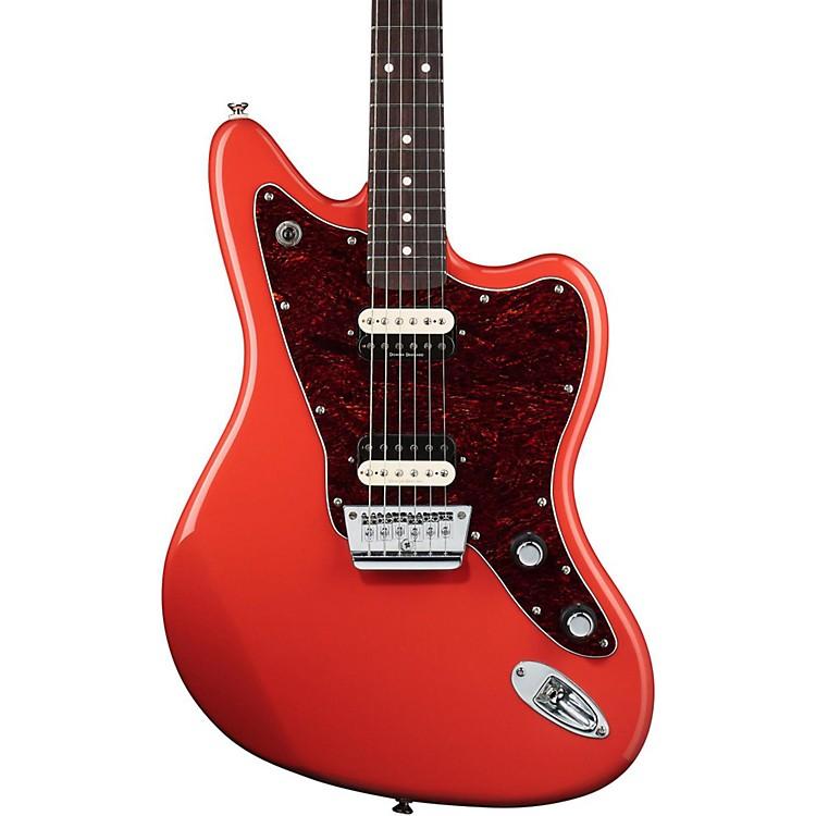 SquierVintage Modified Jaguar HH Electric GuitarFiesta Red
