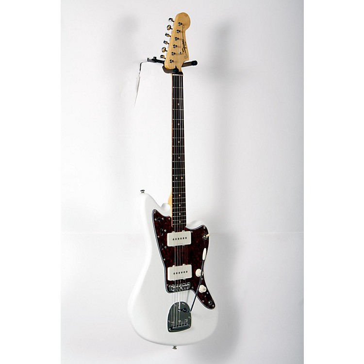 Squier Vintage Modified Jazzmaster Electric Guitar Olympic White, Rosewood Fingerboard 888365905631
