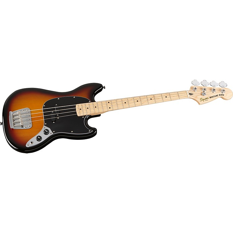 Squier Vintage Modified Mustang Bass Guitar 3-Color Sunburst