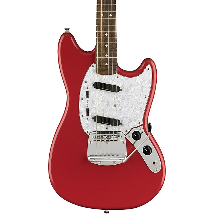SquierVintage Modified Mustang Electric GuitarFiesta Red