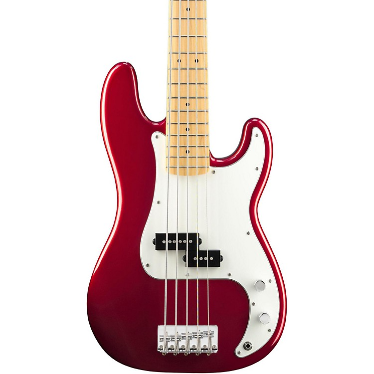 Squier Vintage Modified Precision Bass V Candy Apple Red