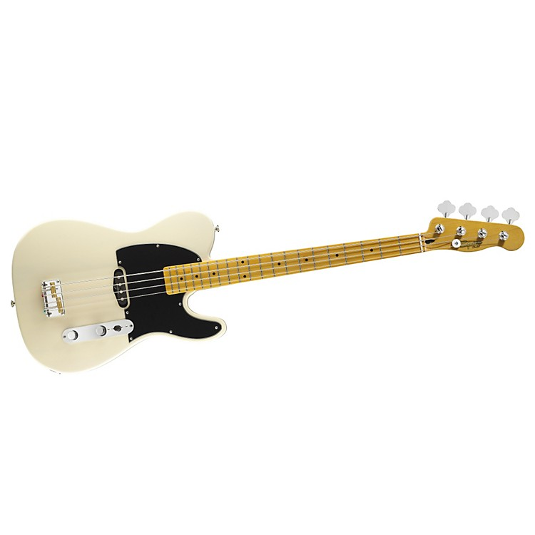 Squier Vintage Modified Telecaster Bass Vintage Blonde Maple Fingerboard