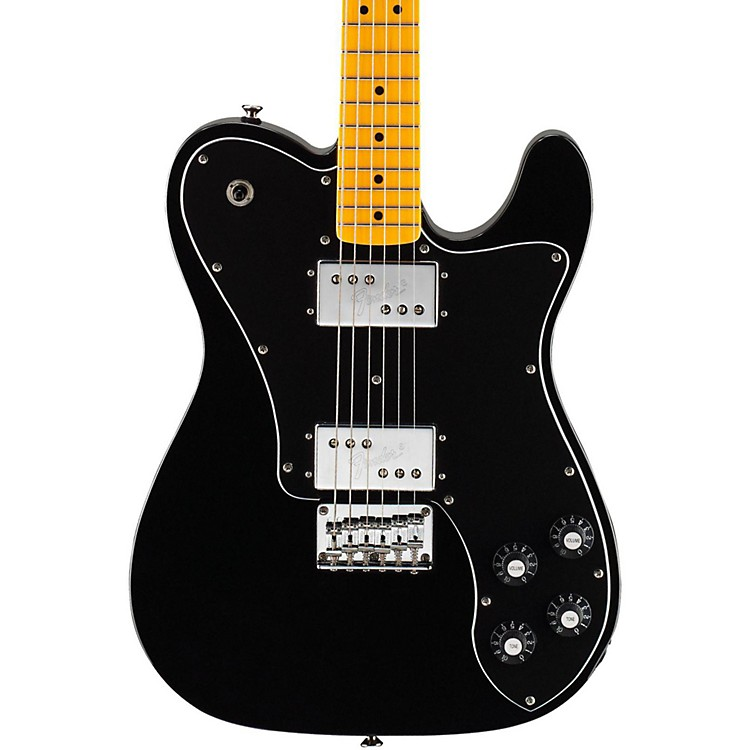 squier vintage modified telecaster deluxe electric guitar music123. Black Bedroom Furniture Sets. Home Design Ideas