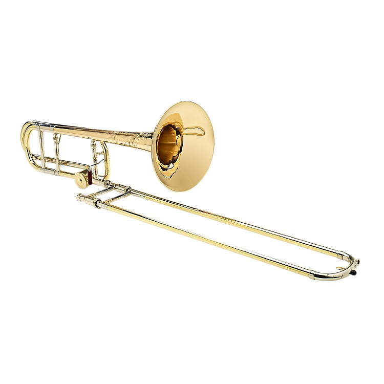 S.E. SHIRESVintage New York Tenor Trombone in Yellow Brass with F AttachmentYellow Brass Bell, Rotor Valve888365821924