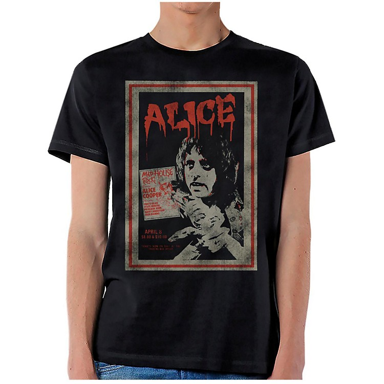 Alice Cooper Vintage Poster T-Shirt Small
