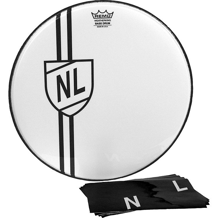 RemoVintage Shield Graphic Bass Drumhead22 in.