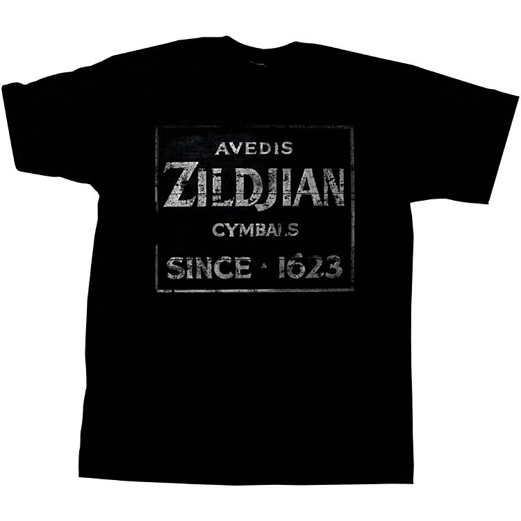 ZildjianVintage Sign T-ShirtBlackX-Large