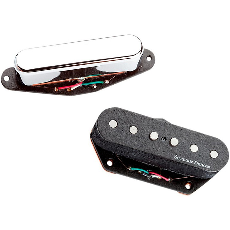 Seymour Duncan Vintage Stack Pickup for Tele Set Black & Chrome
