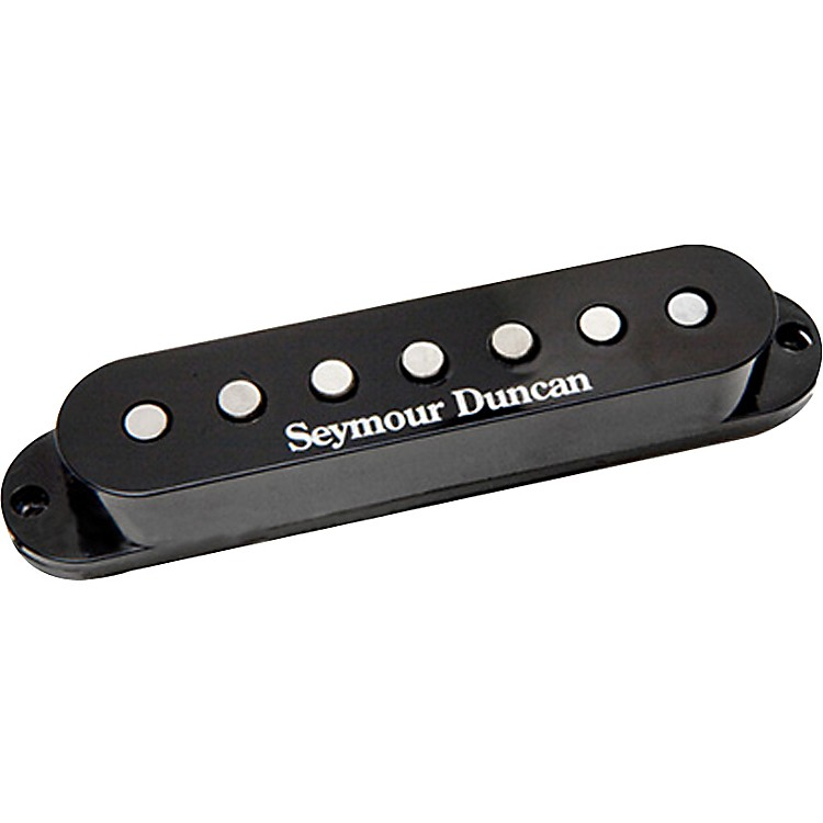 Seymour Duncan Vintage Staggered SSL-1 Single-Coil 7-String Electric Guitar Pickup Black