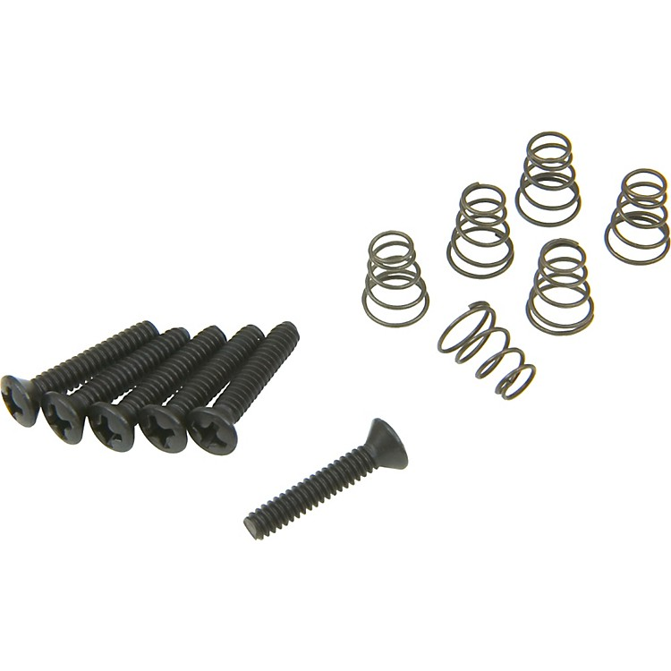 DiMarzio Vintage Style Single Coil Mounting Hardware Kit Black