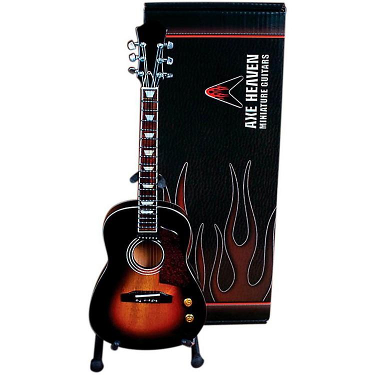 Axe HeavenVintage Sunburst Acoustic Miniature Guitar Replica Collectible