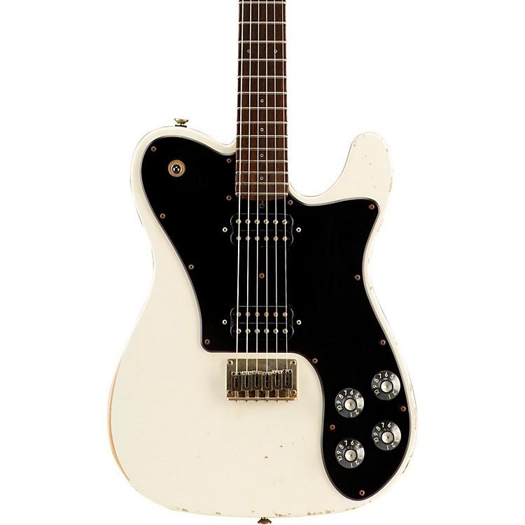 FriedmanVintage-T HH Rosewood Fingerboard Electric GuitarVintage WhiteBlack Pickguard