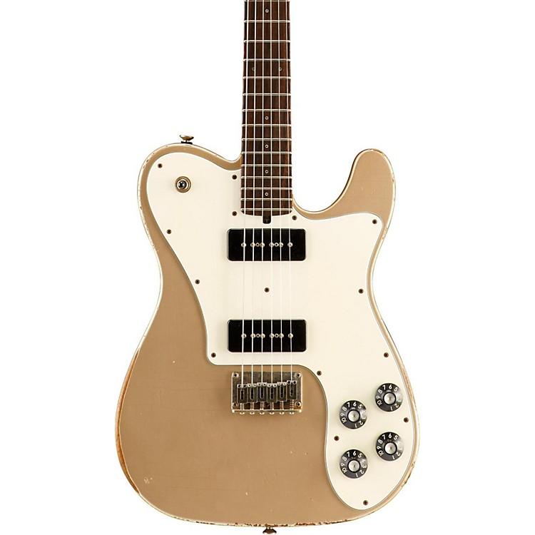 FriedmanVintage-T P90s Mahogany Body Rosewood Fingerboard Electric GuitarGoldParchment Pickguard