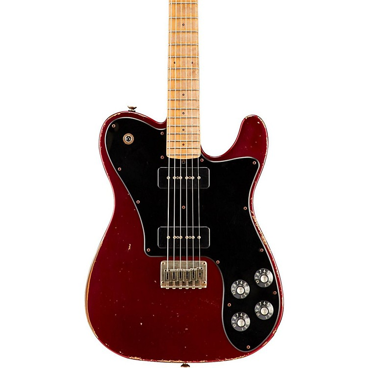 Friedman Vintage-T P90s Maple Fingerboard Electric Guitar Candy Red