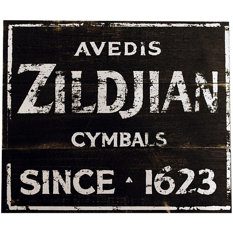 ZildjianVintage Zildjian Factory Sign 15x12.5
