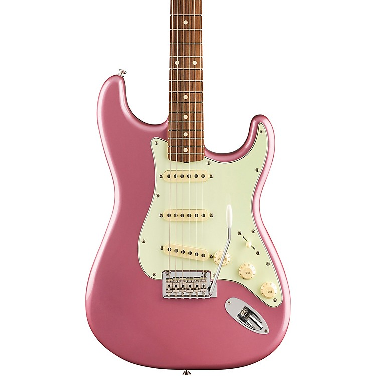 Fender Vintera '60s Stratocaster Modified Electric Guitar Burgundy Mist Metallic